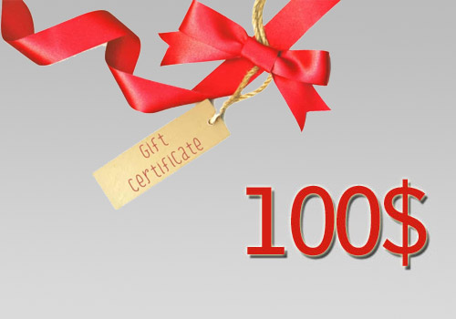 100$ Gift Certificate - Print at Home
