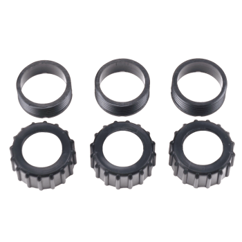 18mm Plastic Rocket Motor Retainer. 3 pack