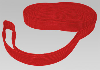 "Red Elastic Shock Cord 5/8"" (per yard)"