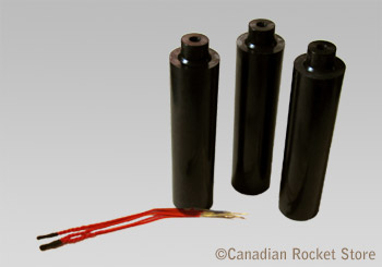 D10-3W model rocket engines. 3 Pack (18 mm)