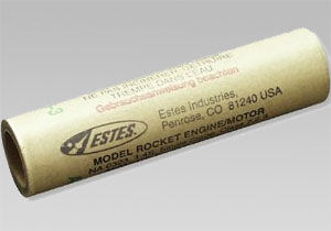 C6-7 model rocket engine. 3 pack
