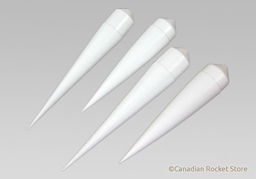 NC-55 Nose Cones 4 Pack by Estes