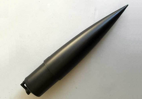 "1.6"" (38mm) Ogive Plastic Nose Cone."