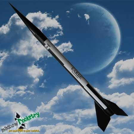 "Black Brant II 4"" Fiberglass Rocket Kit"