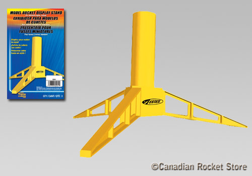 Plastic Rocket Display Stand (for 24 mm motors). 3 pack