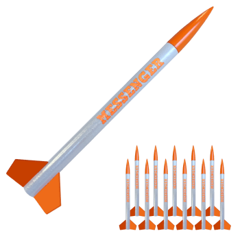Messenger Bulk Pack. Set of 12 Rockets