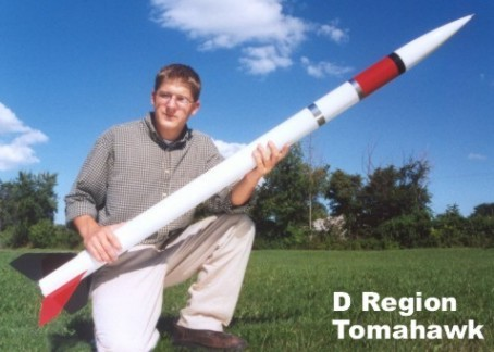 "D-region Tomahawk 3.0"" Rocket Kit"