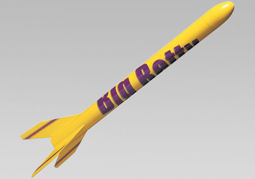 Big Betty Model Rocket Kit