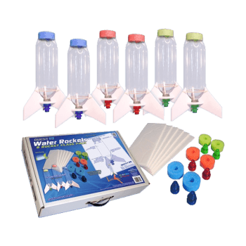 Water Rocket Class Pack with 6 rockets
