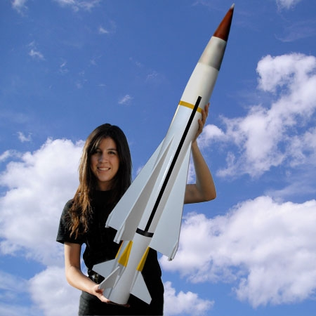 "Sea Wolf 4"" Scale High-Power Rocket Kit"