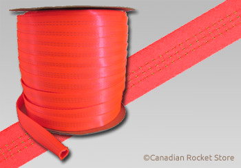 "5/8"" Tubular Nylon. Red for Greater Visibility"