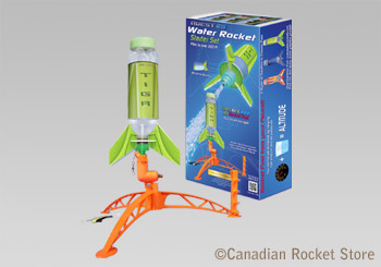 Deluxe Water Rocket Set (with 1 rocket )