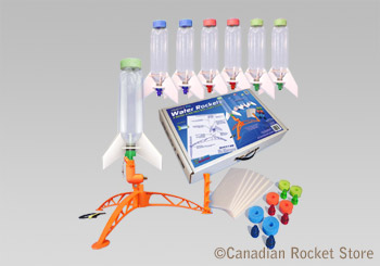 Water Rocket Complete 6 Pack (with launch system)